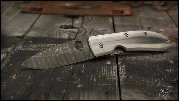 A.T. Barr's damascus Cape Fear