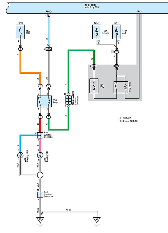 wiring diagram for fog lights the wiring diagram toyota tundra fog light wiring diagram page 4 wiring diagram
